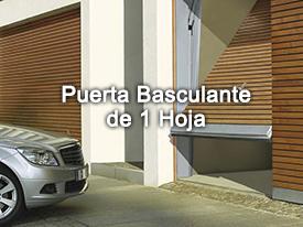 Puerta Basculante 2 hojas | Motor para tu garaje