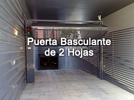 Puerta Basculante 1 hoja | Motor para tu garaje