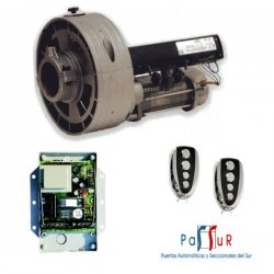 KIT R16/R - Kit motor de persiana con cuadro y radio
