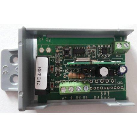 RX2-M - Receptor de radio bicanal en caja, código abierto(universal)