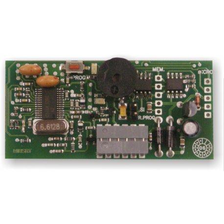 SRT004255MN - Receptor de radio monocanal de insertar, código abierto (universal)