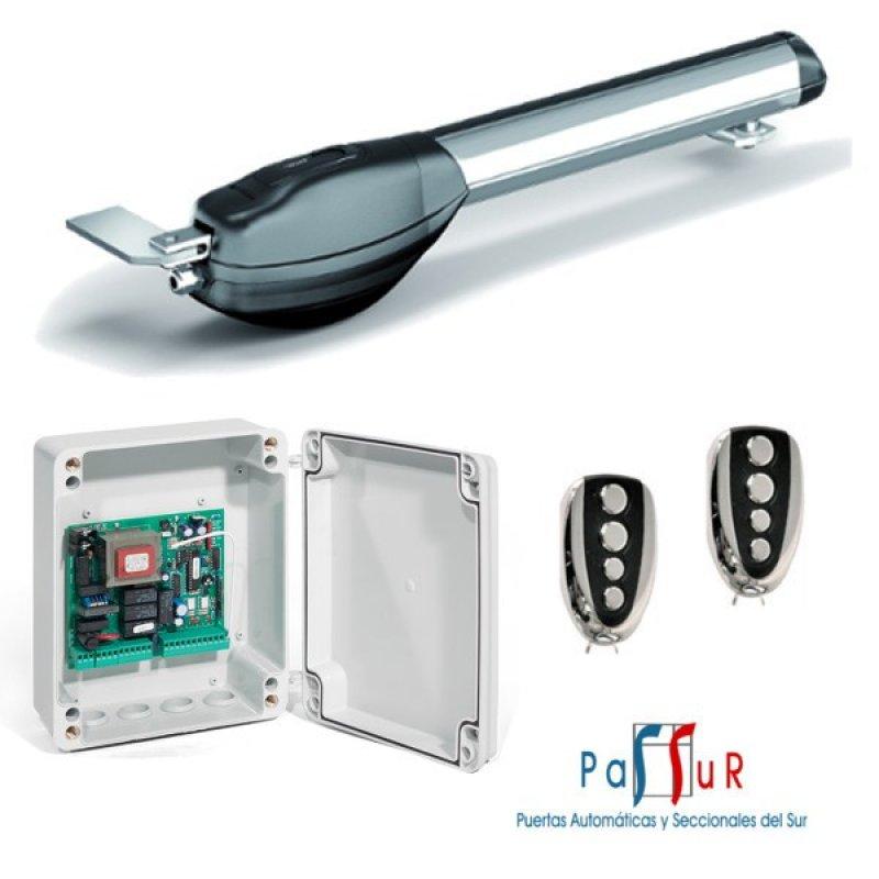 Kit motor a buen precio para puerta batiente 1 hoja for Motor puerta batiente 1 hoja