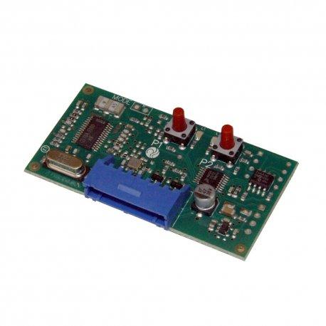 H93/RX22A/I - Receptor de radio bicanal de insertar, código ROGER (Binario)