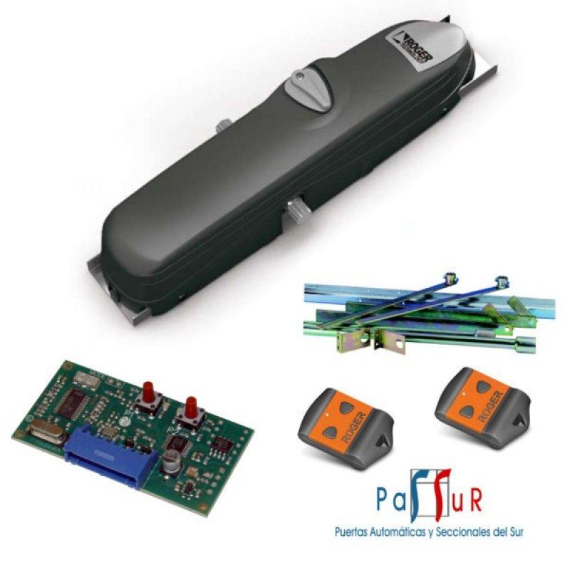 Kit motor para puerta basculante de 1 o 2 hojas al mejor precio - Motores puertas automaticas precios ...