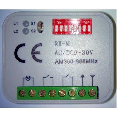 RX-M/UNI - Receptor universal programable