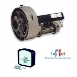 KIT R16/LL - Kit motor de persiana con llave