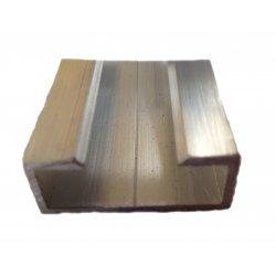 PA-BPP - Perfil aluminio para banda pasiva (x metro)